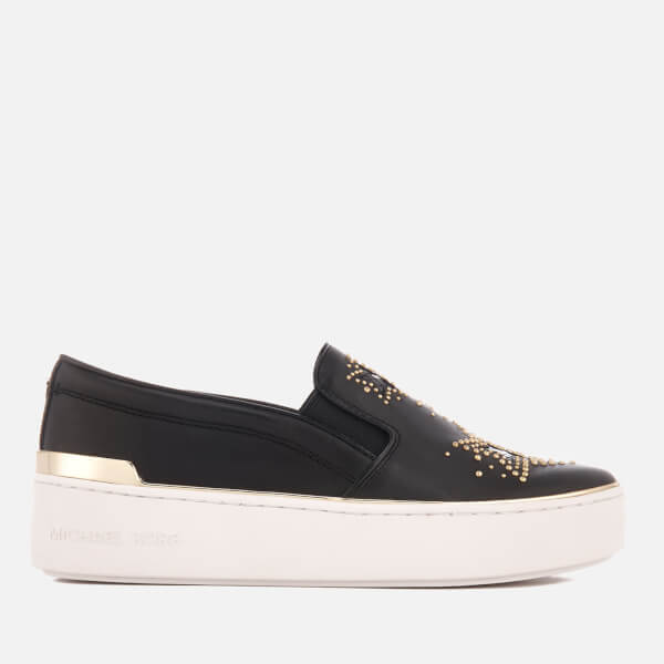 MICHAEL MICHAEL KORS Women's Tyson Slip-On Trainers - Black