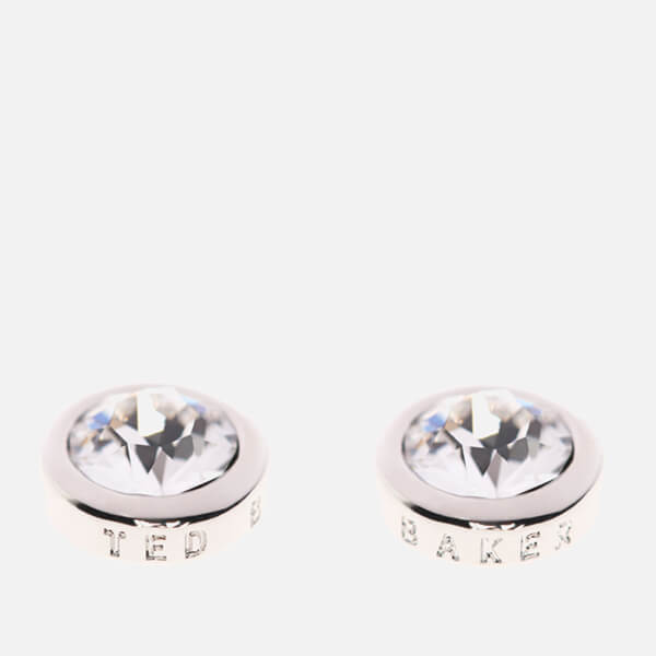 Ted Baker Women's Sinaa Swarovski Crystal Stud Earrings - Silver/Crystal: Image 1
