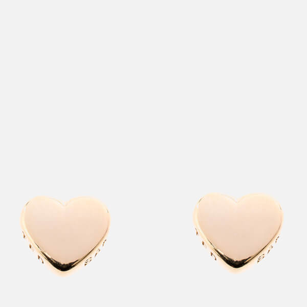 Ted Baker Women's Harly Tiny Heart Stud Earrings - Gold