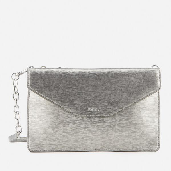 Lauren Ralph Lauren Women's Newbury Erika Cross Body Bag - Antique Silver