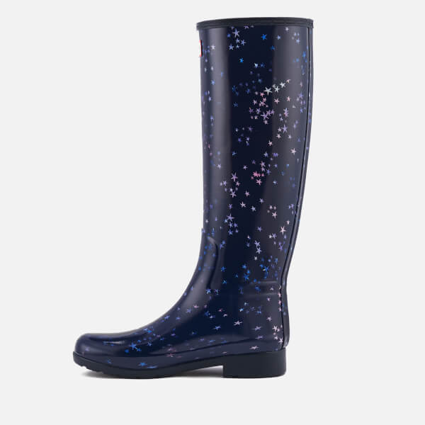 03ee0ec7777 Hunter Women s Refined Constellation Print Tall Wellies - Midnight  Image 6
