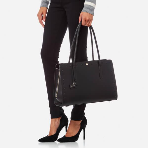 a44f0e313c72 Radley Women s Liverpool Street Stud Large Workbag Tote Bag - Black  Image 3