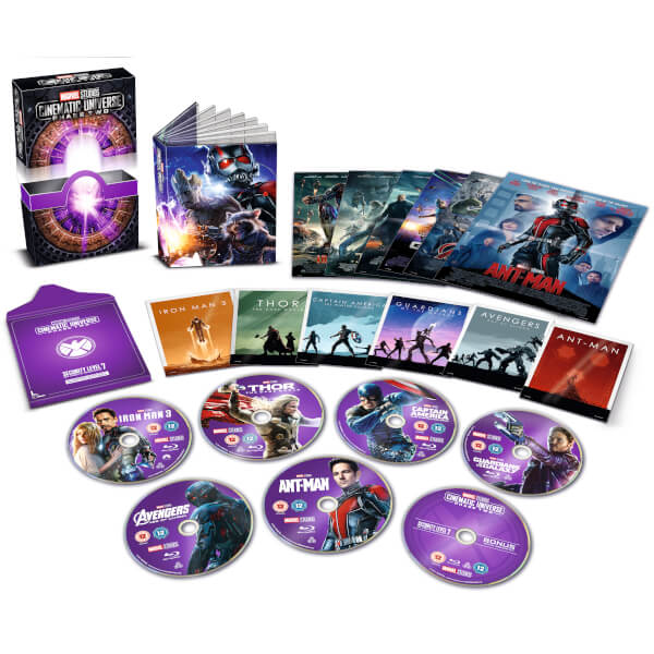Marvel Studios Collector's Edition Box Set - Phase 2
