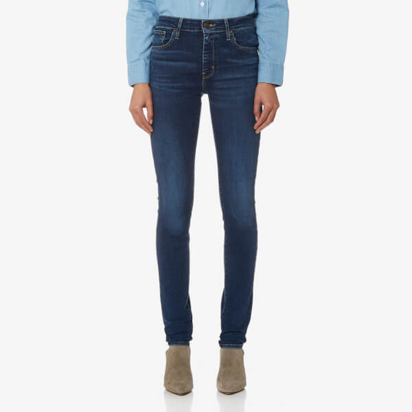 Levi's Women's 721 High Rise Skinny Jeans - Game On: Image 1