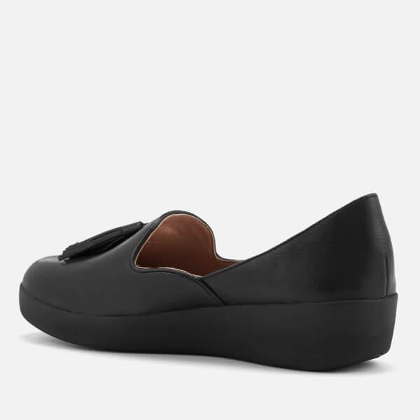 142a5dd5133 FitFlop Women s Tassel Superskate D Orsay Loafers - Black  Image 2