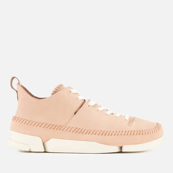 Clarks Originals Men's Trigenic Flex Nubuck Trainers - Natural