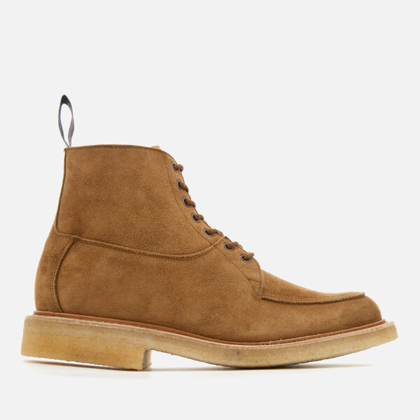 Tricker's Men's Leo Suede Lace Up Boots - Kudu