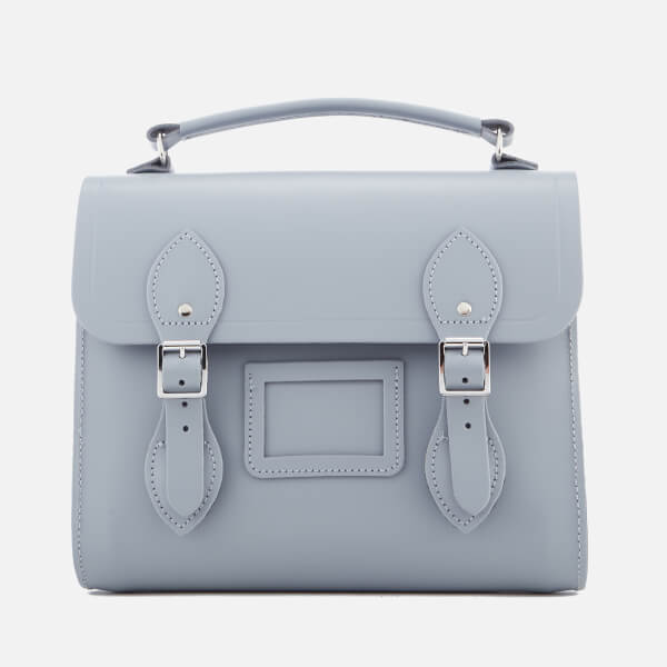 The Cambridge Satchel Company Women's Barrel Backpack - French Grey