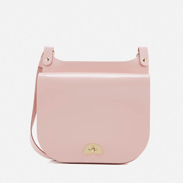The Cambridge Satchel Company Women's Conductors Bag - Peach Pink Patent