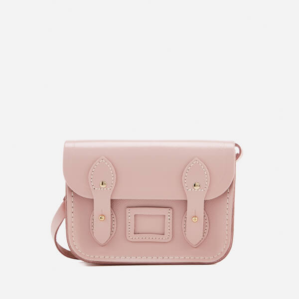 The Cambridge Satchel Company Women's Tiny Satchel - Peach Pink Saffiano