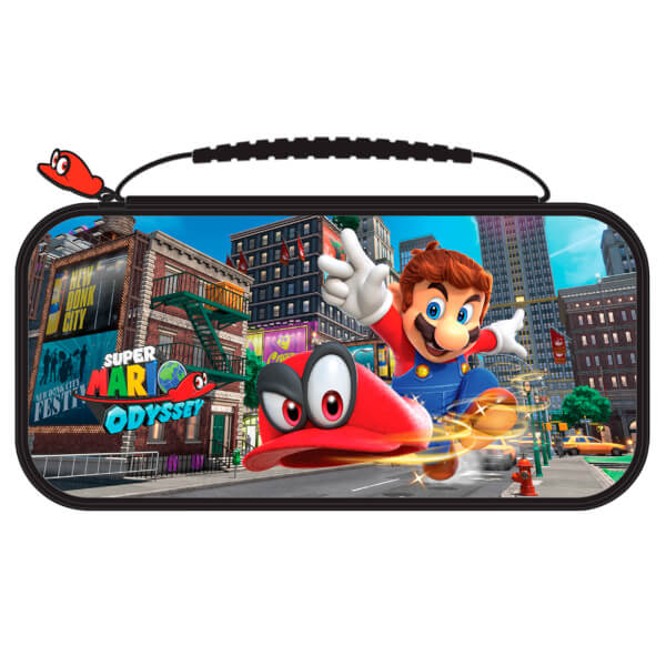 nintendo switch deluxe travel case super mario odyssey