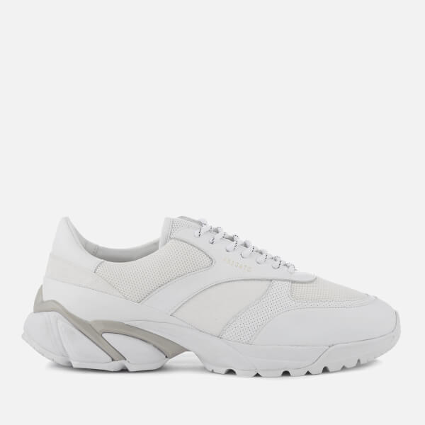 Axel Arigato Men's Tech Leather/Canvas Runner Trainers - White