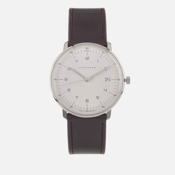 Junghans Men's Max Bill Quartz Watch - White/Brown