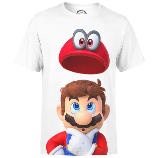 Super Mario Odyssey T-Shirt - White