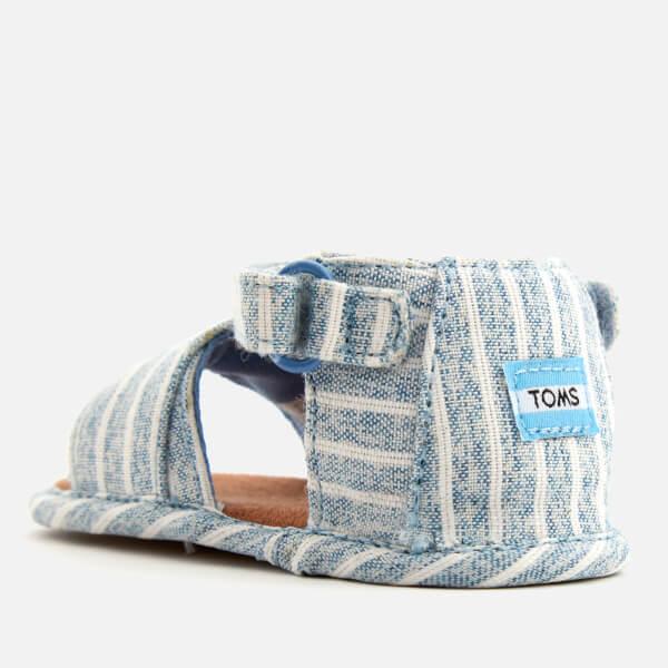 863d234325c TOMS Babies  Shiloh Sandals - Sky Washed Stripe  Image 2