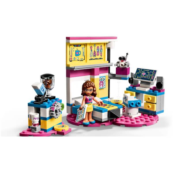 lego friends olivias deluxe bedroom 41329 toys zavvi