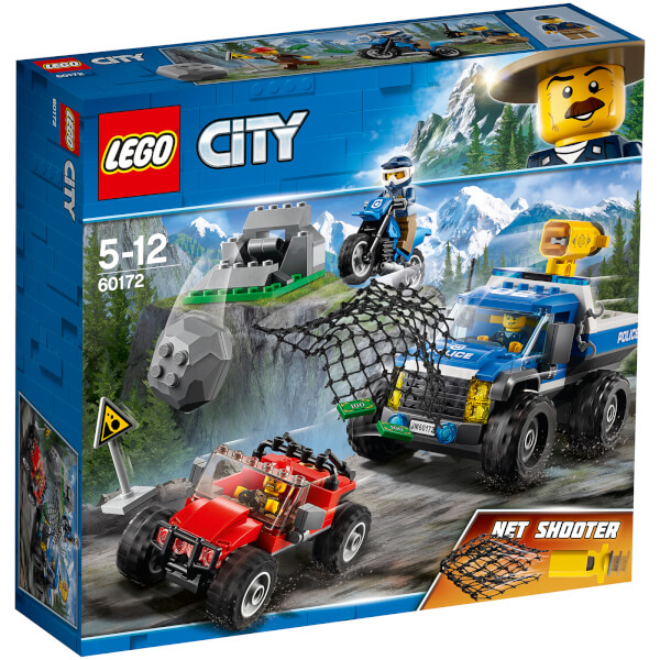 lego city police dirt road pursuit 60172 image 1 - Lgo City Police
