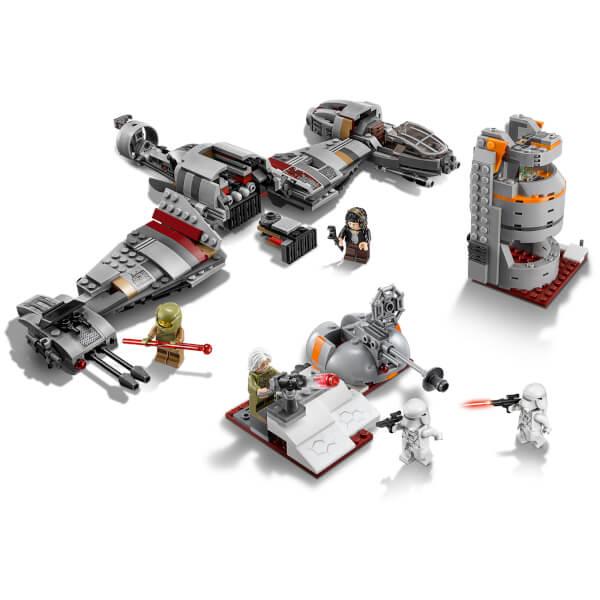 LEGO Star Wars The Last Jedi: Defense of Crait (75202) Toys | Zavvi ...