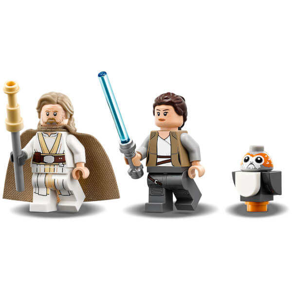 Lego star wars the last jedi ahch to island training 75200 toys zavvi - Croiseur interstellaire star wars lego ...