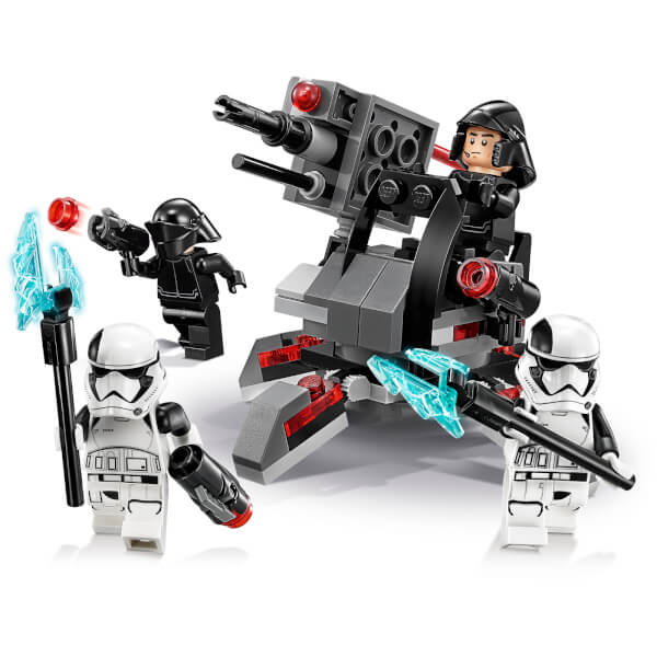 LEGO Star Wars The Last Jedi: First Order Specialists Battle Pack ...