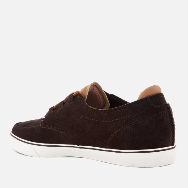 Lacoste Men's Esparre Deck 118 1 Suede Boat Shoes - Dark /Light - UK 7 e25Bug