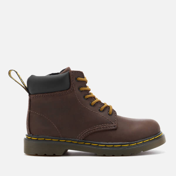 Dr. Martens Kids' Padley I Wyoming Lace Low Boots - Dark Brown