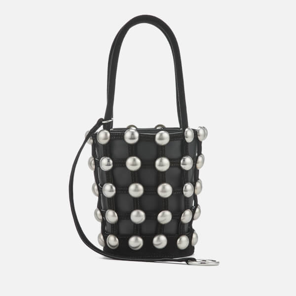 Alexander Wang Women's Roxy Mini Bucket Dome Stud Bag - Black