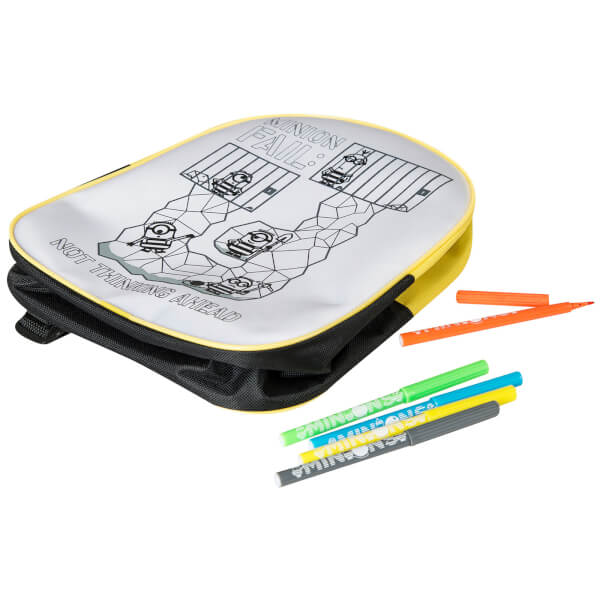 Despicable Me 3 Colour Your Own Backpack