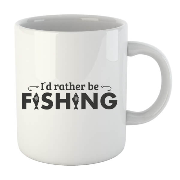 Id Rather be Fishing Mug