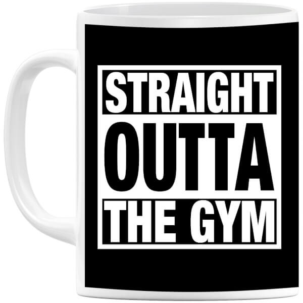 Straight Outta the Gym Mug