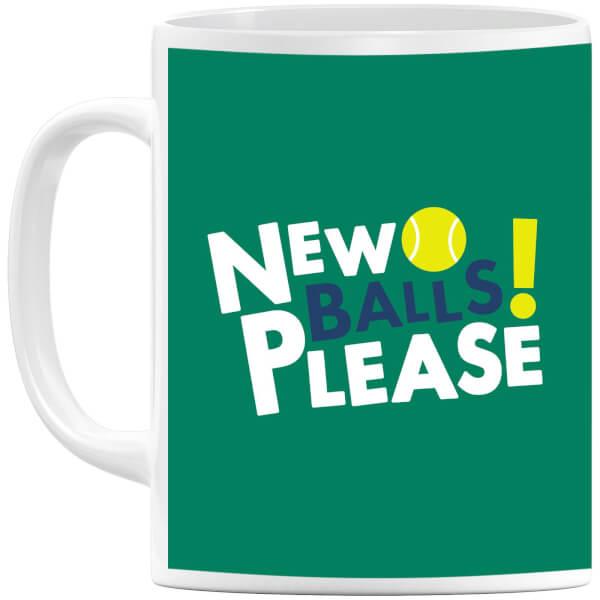 New Balls Please Mug