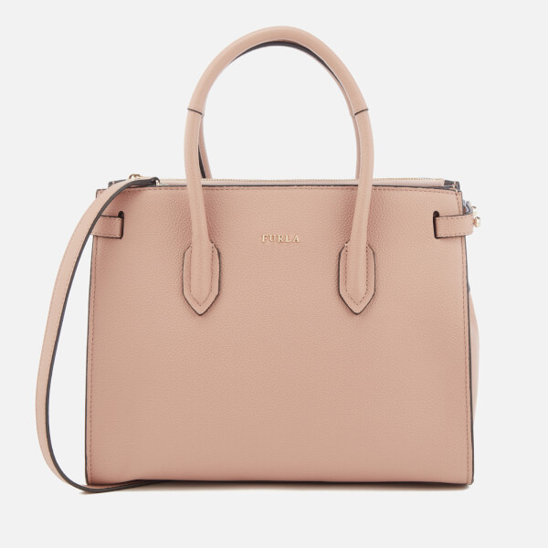 Furla Women's Pin Small East West Tote Bag - Moonstone