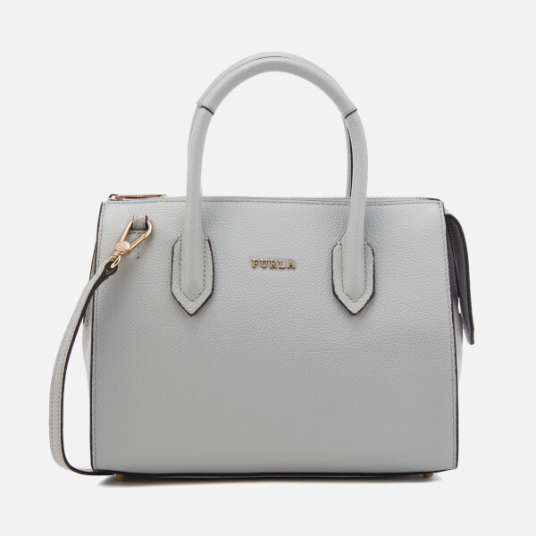 Furla Women's Pin Small Satchel - Cristallo