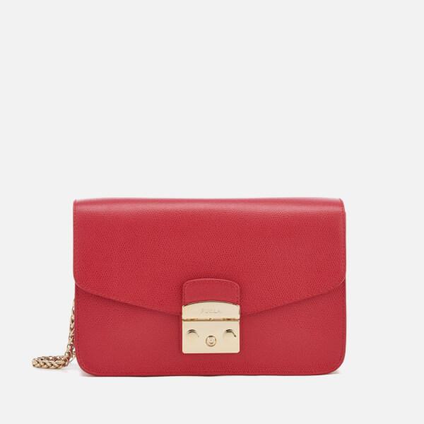 Furla Women's Metropolis Shoulder Bag - Ruby