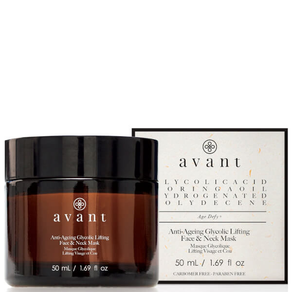 Avant Skincare Anti-Aging Glycolic Lifting Face and Neck Mask 1.69 fl. oz