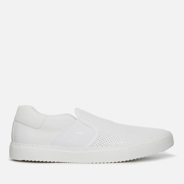 Armani Exchange Men's Slip-On Trainers - Bianco