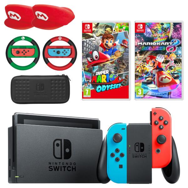 Nintendo Switch Mario Mega Bundle
