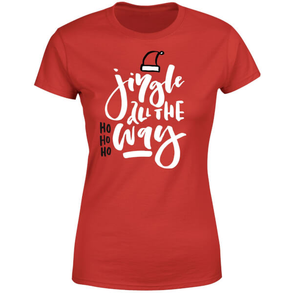 Jingle Women's T-Shirt - Red