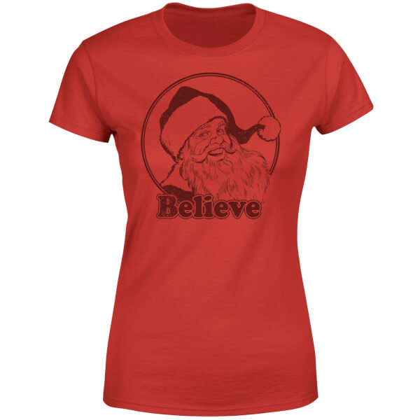 Believe Red Women's T-Shirt - Red