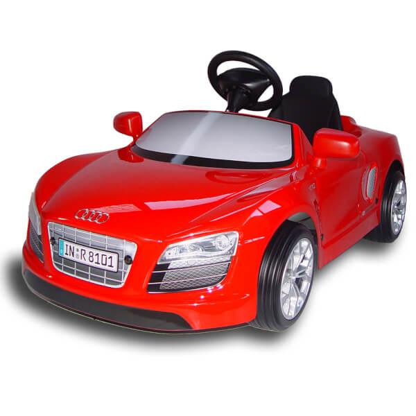 Audi R8 Spyder 12V Electric Car - Red