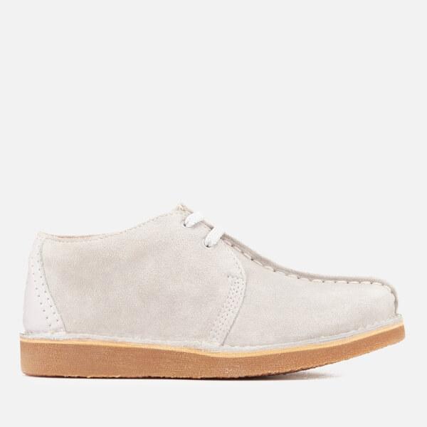 Clarks Originals Kids' Desert Trek Shoes - Grey Suede