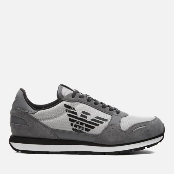 Emporio Armani Men's Trainers - Ash