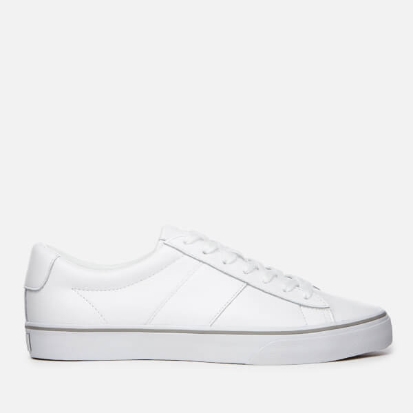 Polo Ralph Lauren Men's Sayer Leather Trainers - RL White