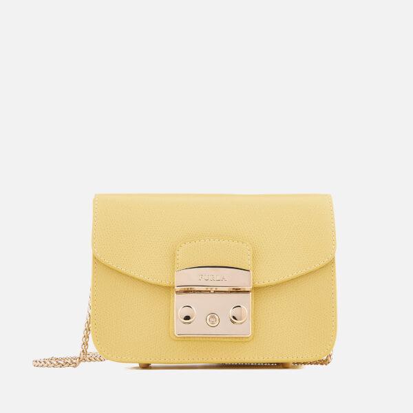Furla Women's Metropolis Mini Cross Body Bag - Yellow