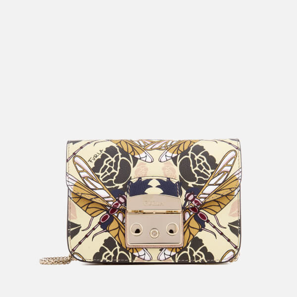 Furla Women's Metropolis Mini Cross Body Bag - Beige
