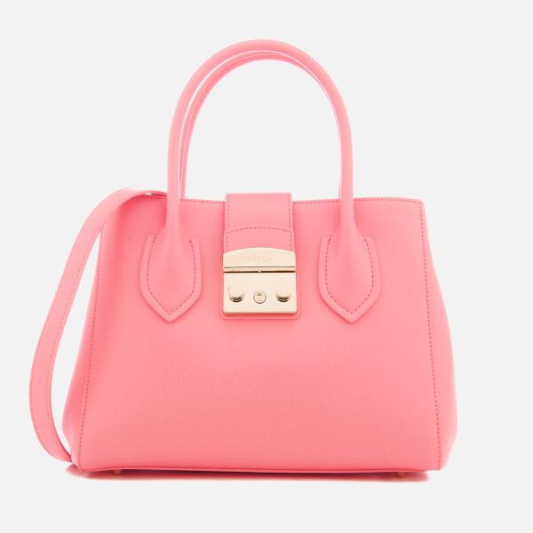 Furla Women's Metropolis Small Tote Bag - Pink