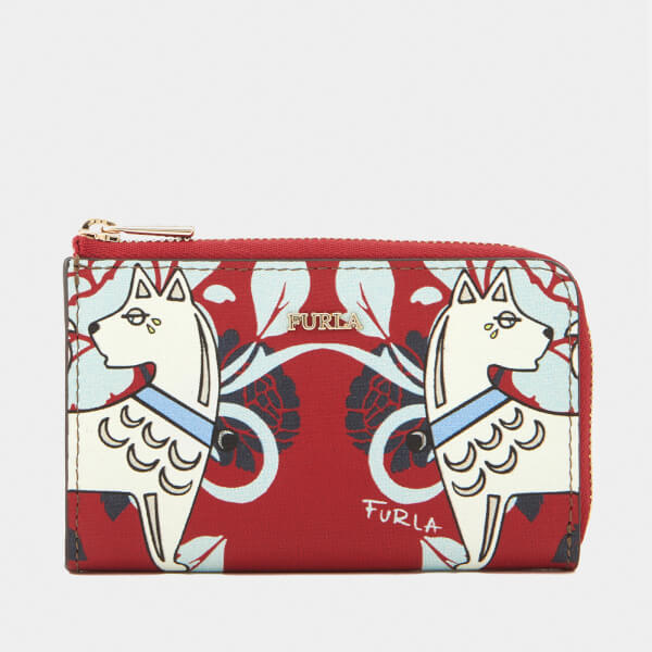 Furla Women's Babylon Small Coin Case - Red: Image 01
