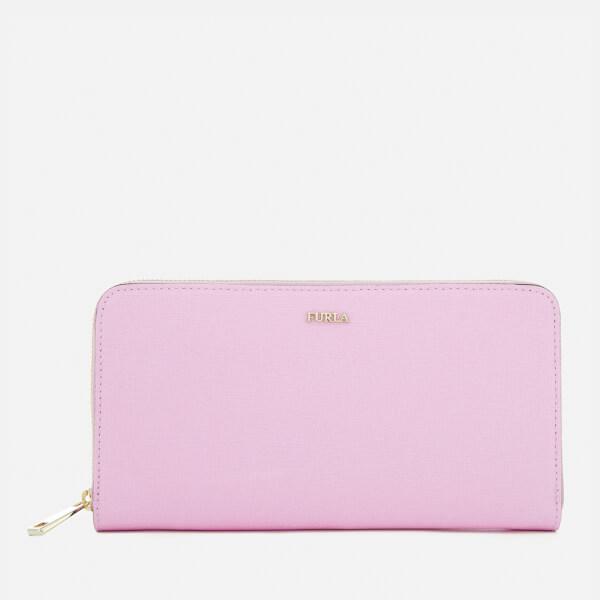 Furla Women's Babylon Extra Large Zip Around Wallet - Lilac