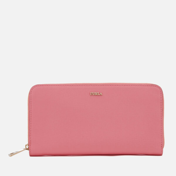 Furla Women's Babylon Extra Large Zip Around Wallet - Pink