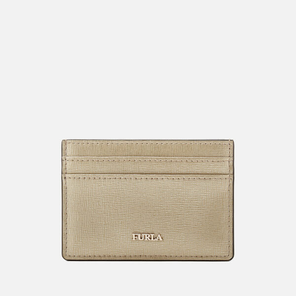 Furla Women's Babylon Small Credit Card Case - Gold